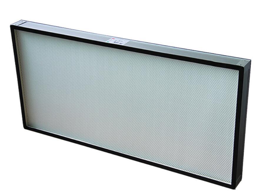 cleanroom HEPA filter mini pleated 99.97% - 99.995% H13 H14 EN1822