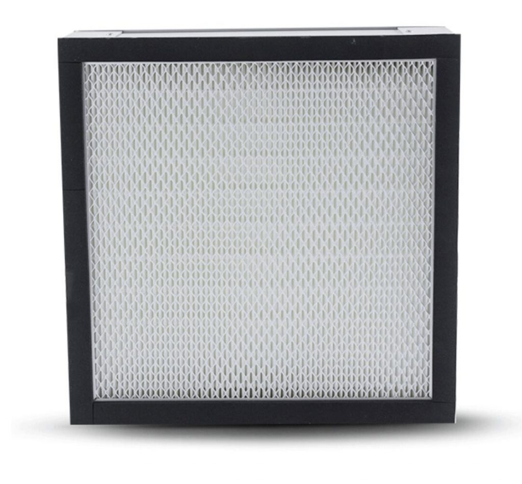 minipleat HEPA filter