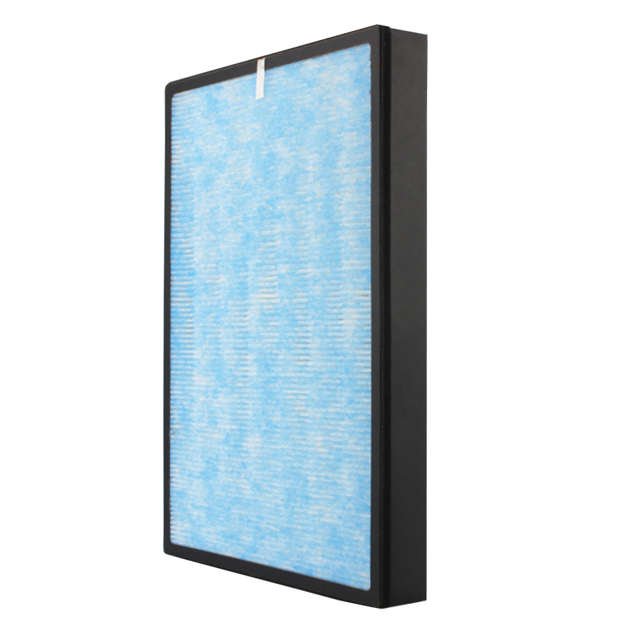 air purifier filter with anti-bacterial layer
