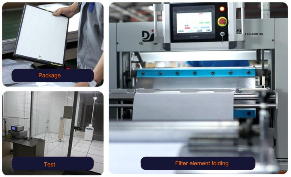 China air purifier filter manufacturer